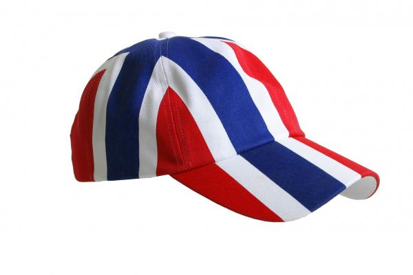 813503e3b Kul supporter cap med med heldekkende flagg - Patriotisk