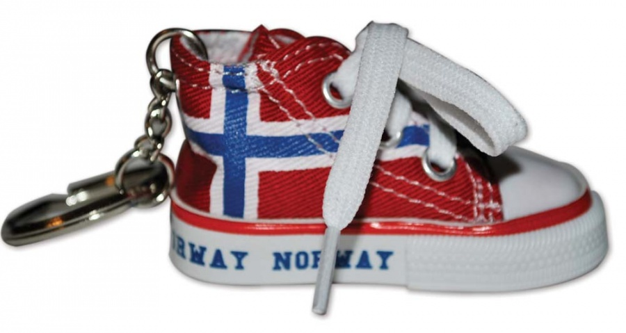 Converse sko nøkkelring Patriotisk